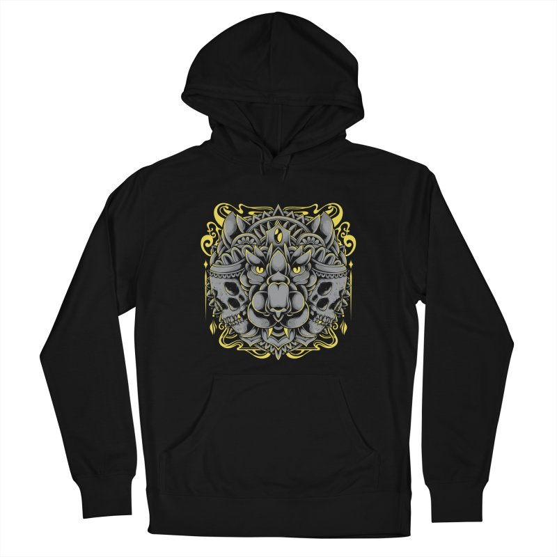 Ghost Tiger Women's Pullover Hoody by godzillarge's Artist Shop