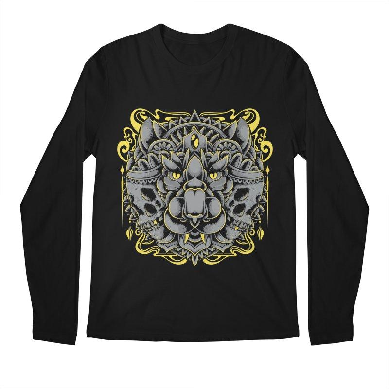 Ghost Tiger Men's Longsleeve T-Shirt by godzillarge's Artist Shop