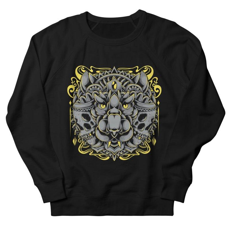 Ghost Tiger Men's Sweatshirt by godzillarge's Artist Shop