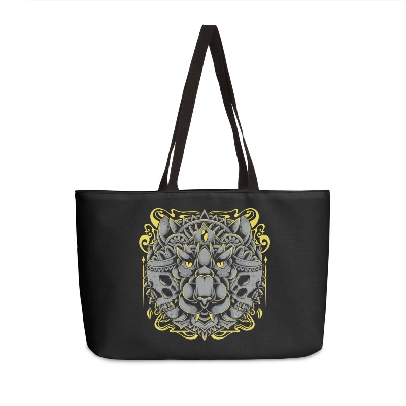 Ghost Tiger Accessories Bag by godzillarge's Artist Shop