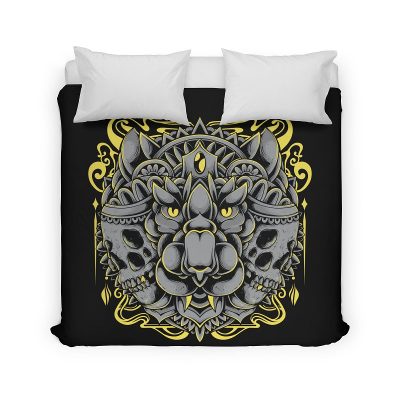 Ghost Tiger Home Duvet by godzillarge's Artist Shop