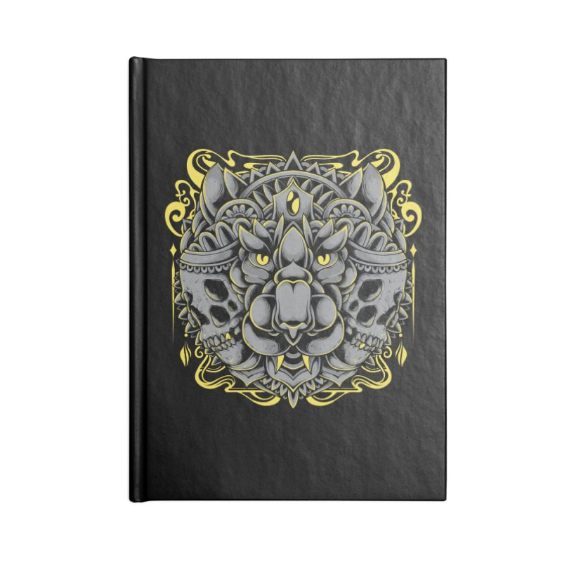Ghost Tiger Accessories Notebook by godzillarge's Artist Shop
