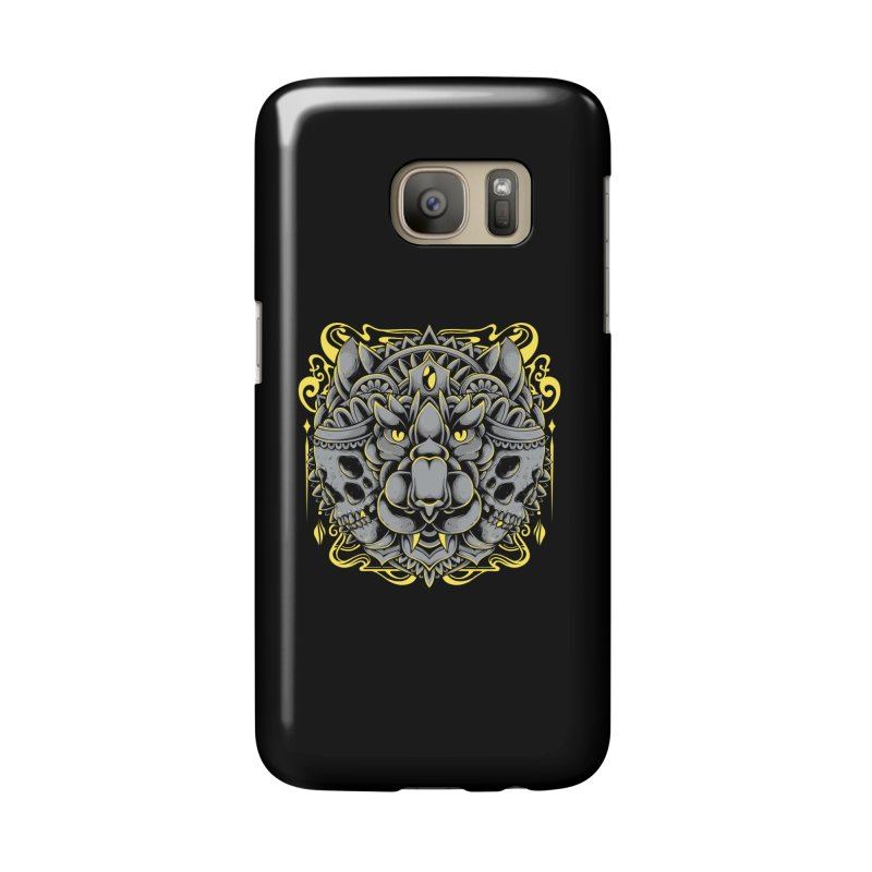 Ghost Tiger Accessories Phone Case by godzillarge's Artist Shop