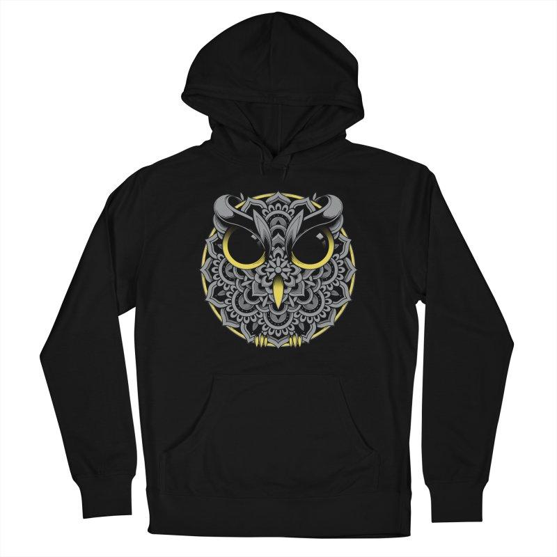 Owl Mandala Women's Pullover Hoody by godzillarge's Artist Shop