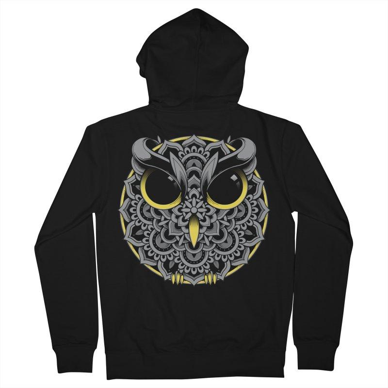 Owl Mandala Women's Zip-Up Hoody by godzillarge's Artist Shop