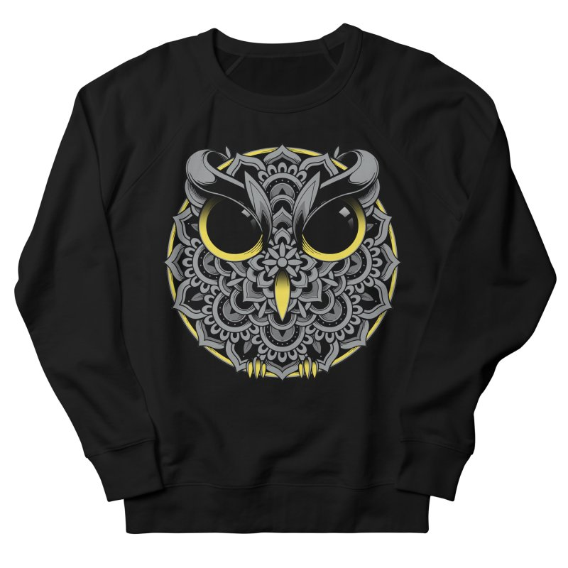 Owl Mandala Women's Sweatshirt by godzillarge's Artist Shop