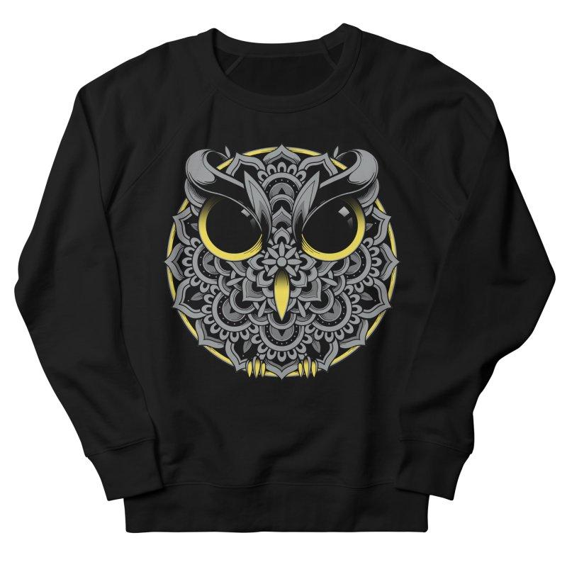 Owl Mandala Men's Sweatshirt by godzillarge's Artist Shop