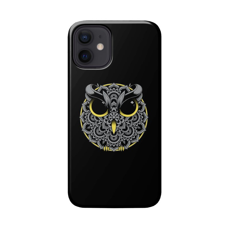 Owl Mandala Accessories Phone Case by godzillarge's Artist Shop