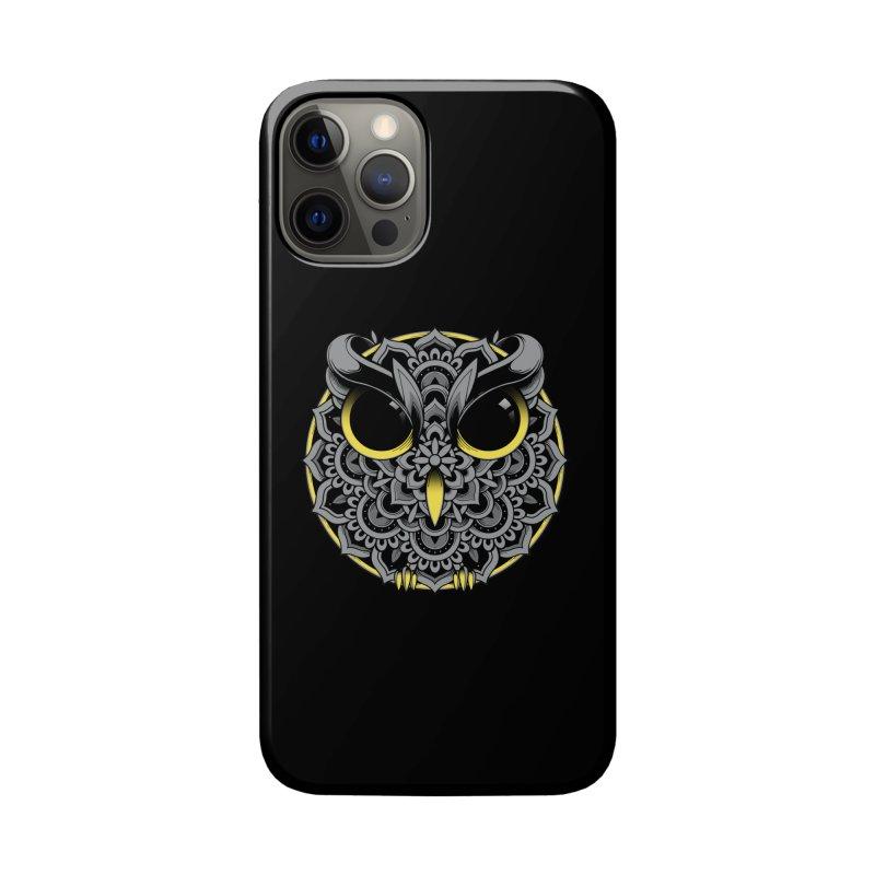 Owl Mandala Accessories Phone Case by godzillarge's Artist Shop