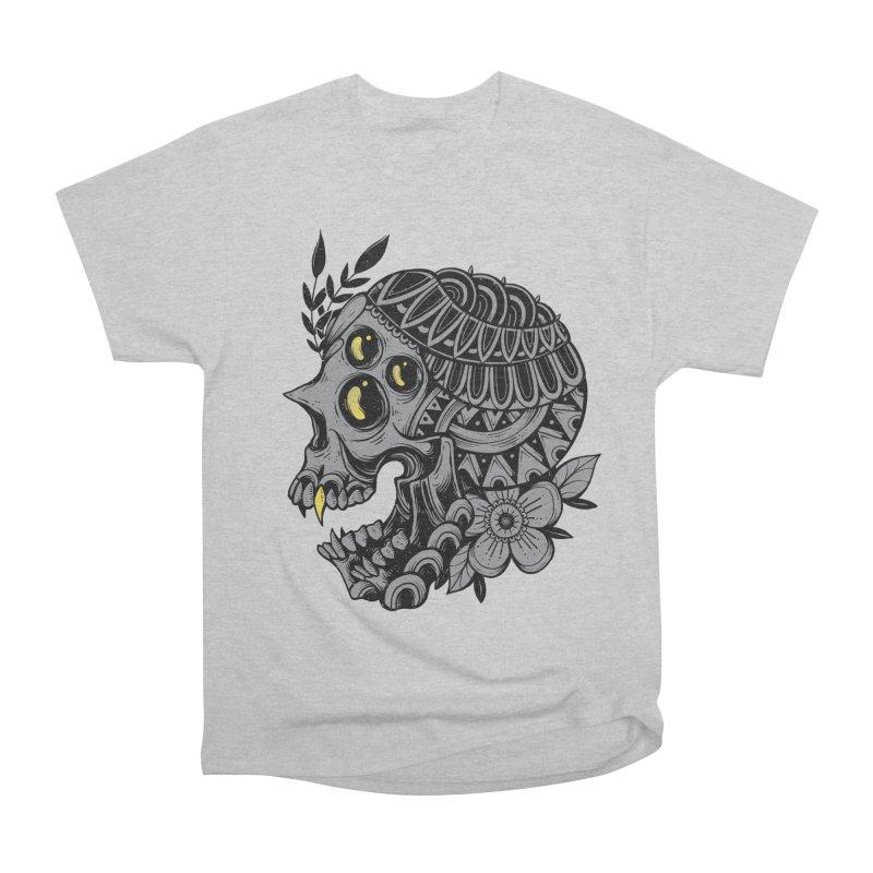 Botanical Skull Men's T-Shirt by godzillarge's Artist Shop