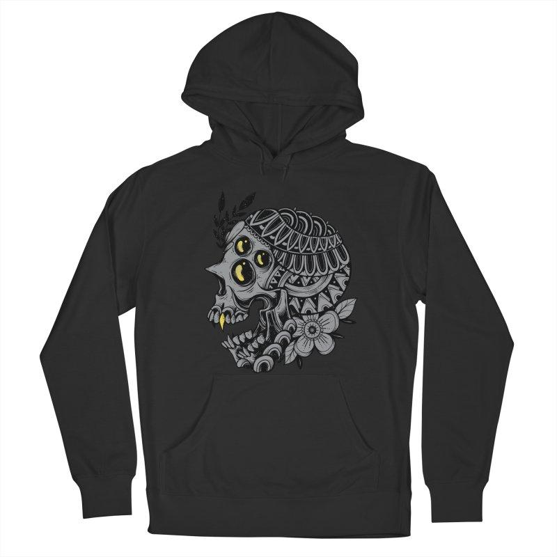 Botanical Skull Men's Pullover Hoody by godzillarge's Artist Shop