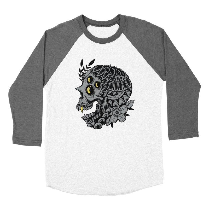 Botanical Skull Women's Longsleeve T-Shirt by godzillarge's Artist Shop