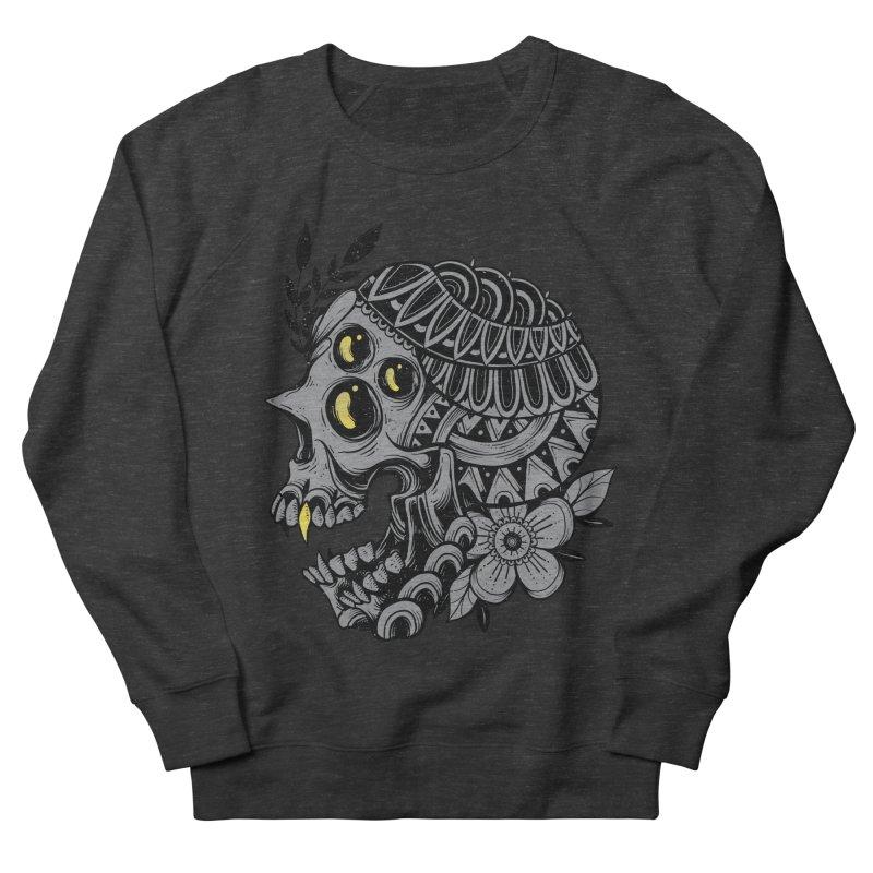 Botanical Skull Men's Sweatshirt by godzillarge's Artist Shop