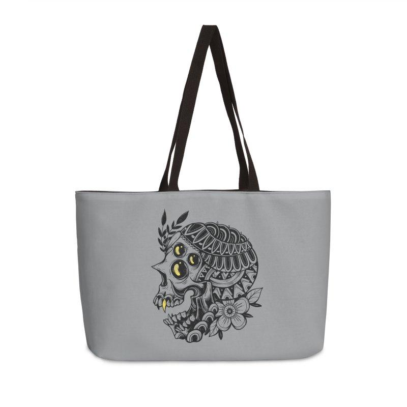 Botanical Skull Accessories Bag by godzillarge's Artist Shop