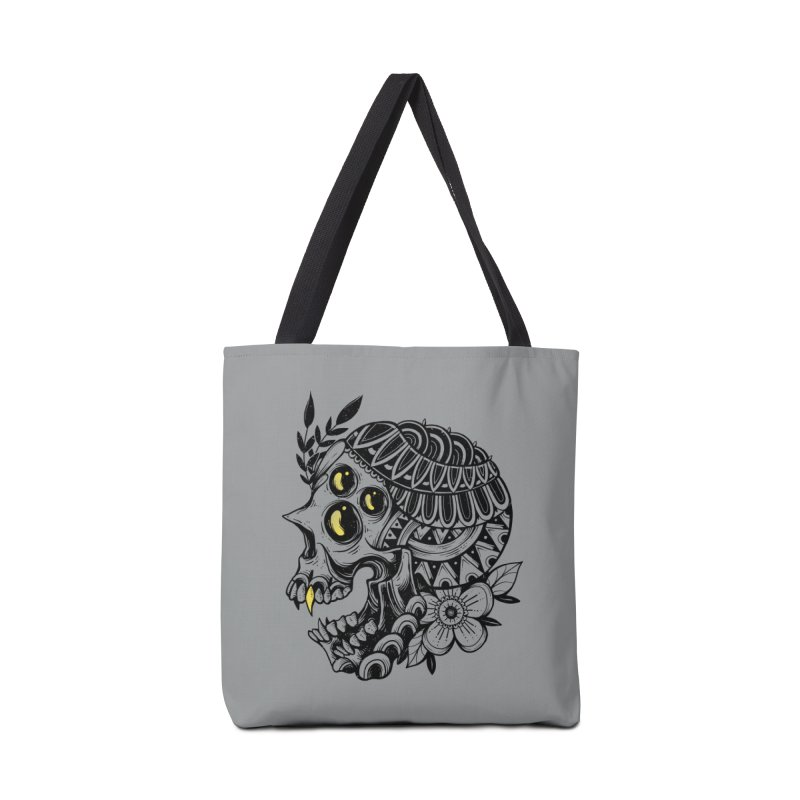 Botanical Skull Accessories Bag by godzillarge's Artist Shop