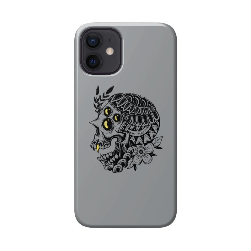 Botanical Skull Accessories Phone Case by godzillarge's Artist Shop