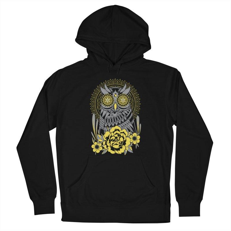 Golden Eyes Owl Women's Pullover Hoody by godzillarge's Artist Shop