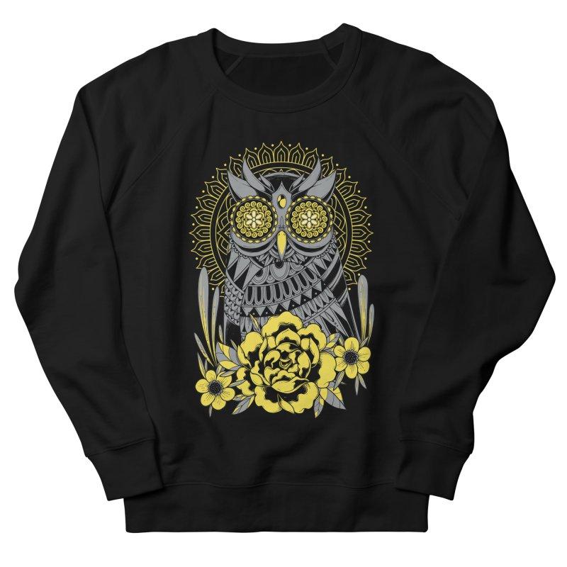 Golden Eyes Owl Men's Sweatshirt by godzillarge's Artist Shop