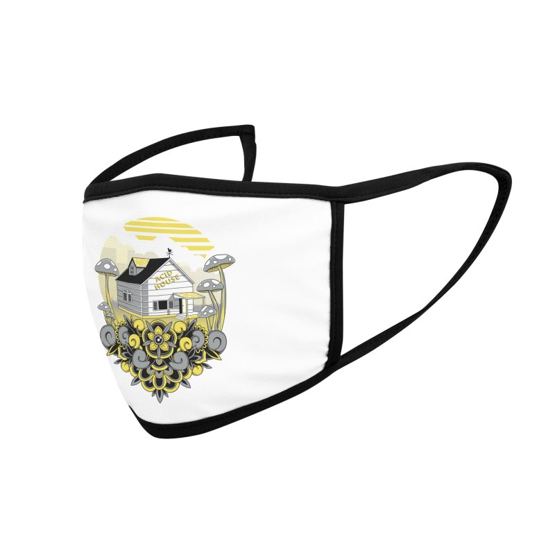 Acid House Accessories Face Mask by godzillarge's Artist Shop