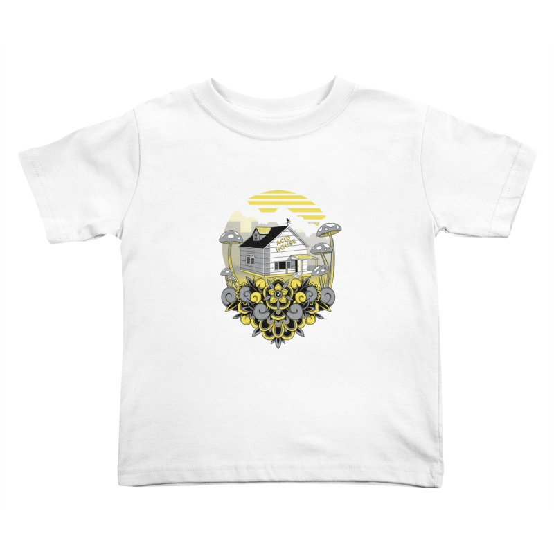 Acid House Kids Toddler T-Shirt by godzillarge's Artist Shop