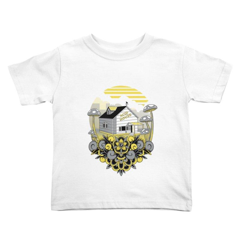 Acid House Kids Toddler T-Shirt by godzillarge's Artist Shop