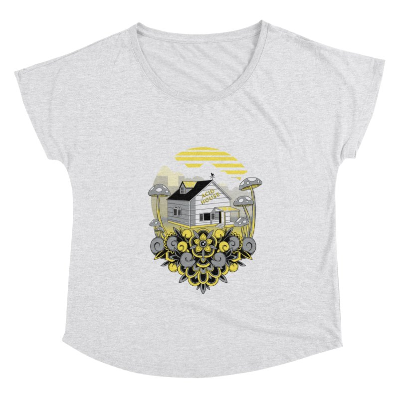Acid House Women's Scoop Neck by godzillarge's Artist Shop
