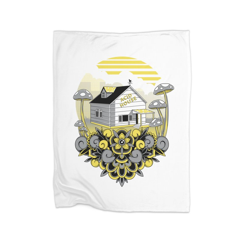 Acid House Home Blanket by godzillarge's Artist Shop