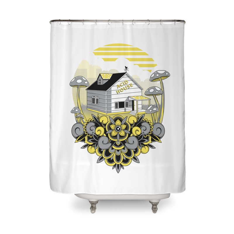 Acid House Home Shower Curtain by godzillarge's Artist Shop