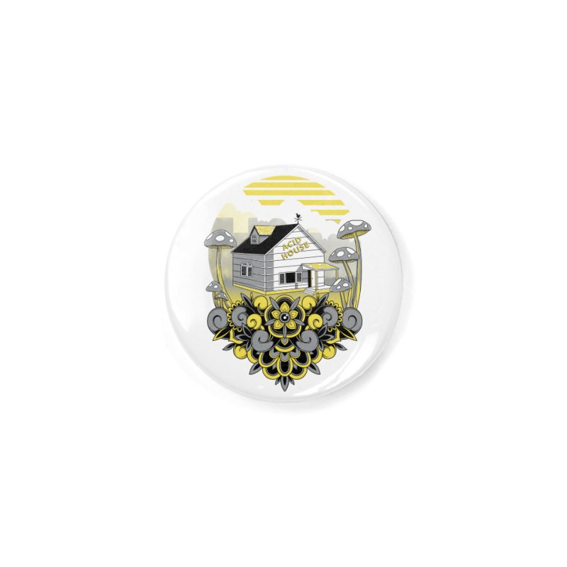 Acid House Accessories Button by godzillarge's Artist Shop