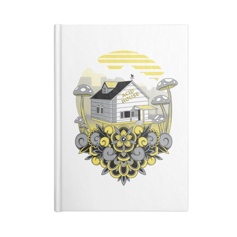 Acid House Accessories Notebook by godzillarge's Artist Shop