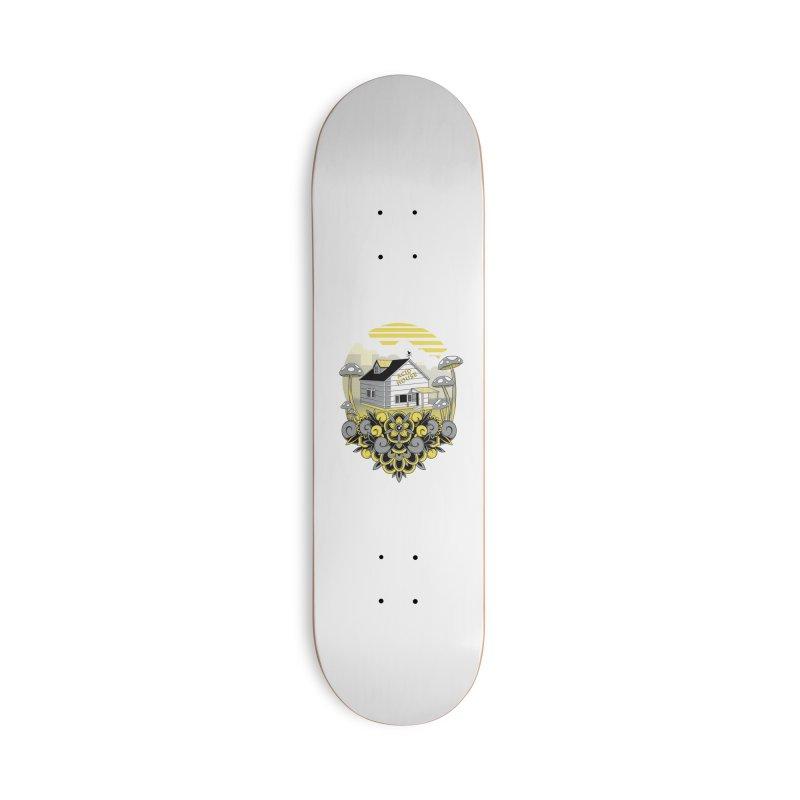 Acid House Accessories Skateboard by godzillarge's Artist Shop