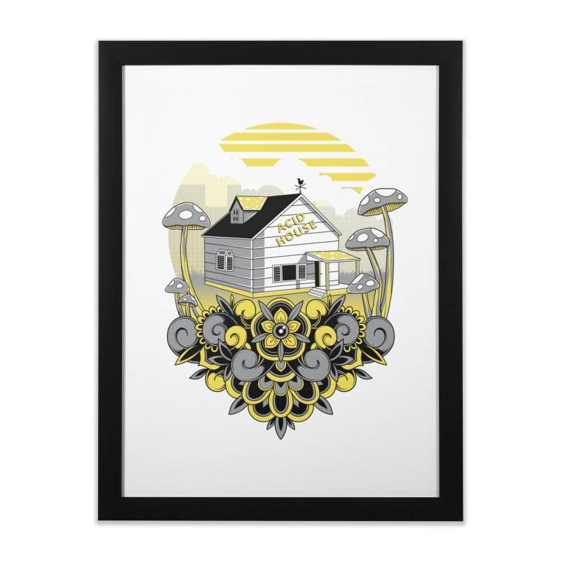 Acid House Home Framed Fine Art Print by godzillarge's Artist Shop
