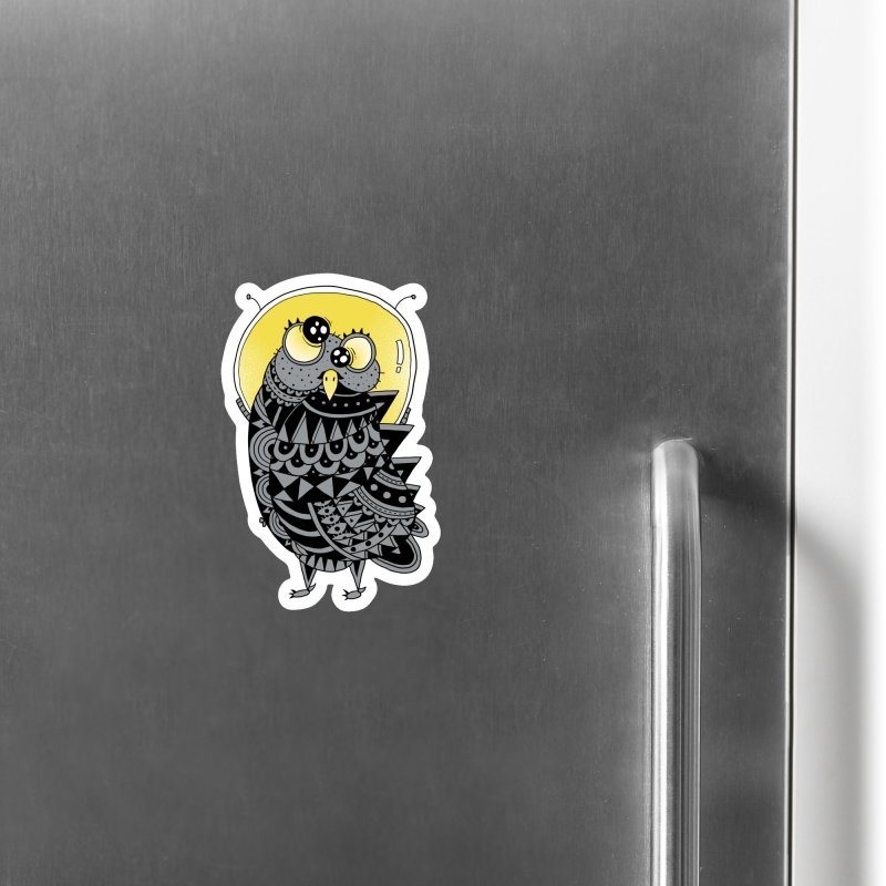 Space Adventure Accessories Magnet by godzillarge's Artist Shop