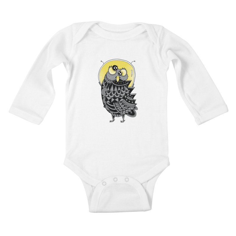 Space Adventure Kids Baby Longsleeve Bodysuit by godzillarge's Artist Shop