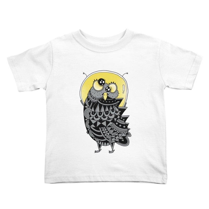 Space Adventure Kids Toddler T-Shirt by godzillarge's Artist Shop