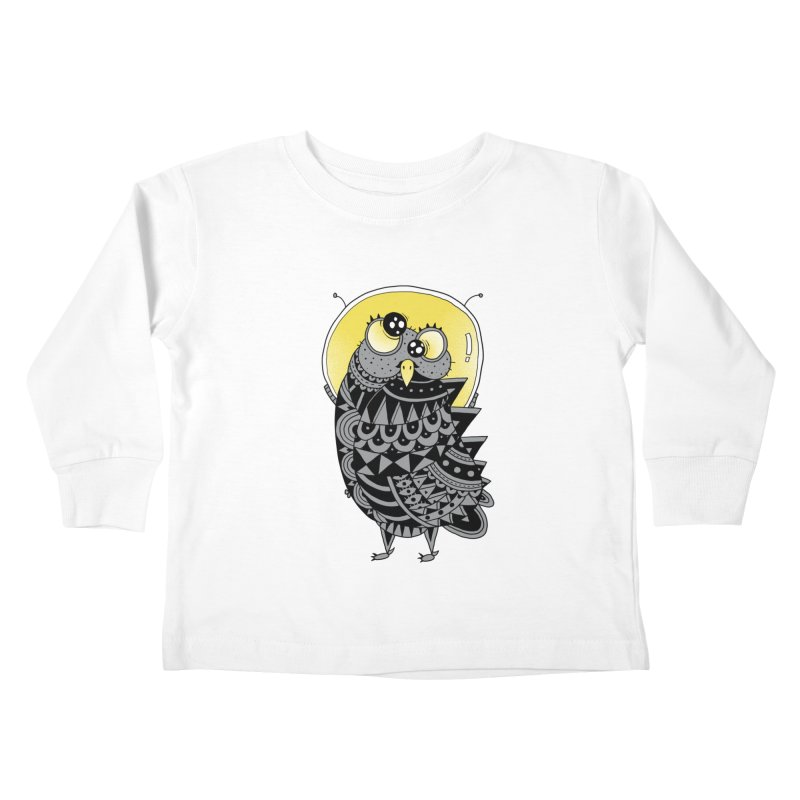 Space Adventure Kids Toddler Longsleeve T-Shirt by godzillarge's Artist Shop