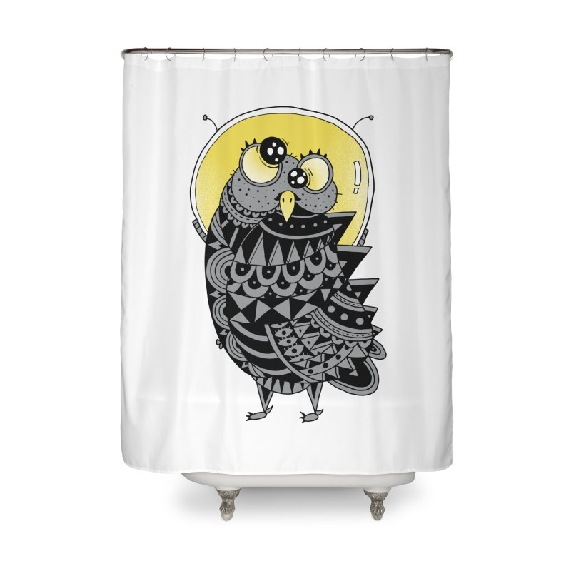 Space Adventure Home Shower Curtain by godzillarge's Artist Shop