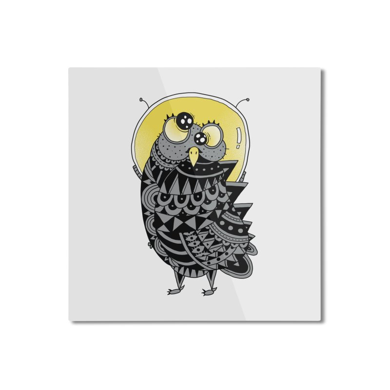 Space Adventure Home Mounted Aluminum Print by godzillarge's Artist Shop
