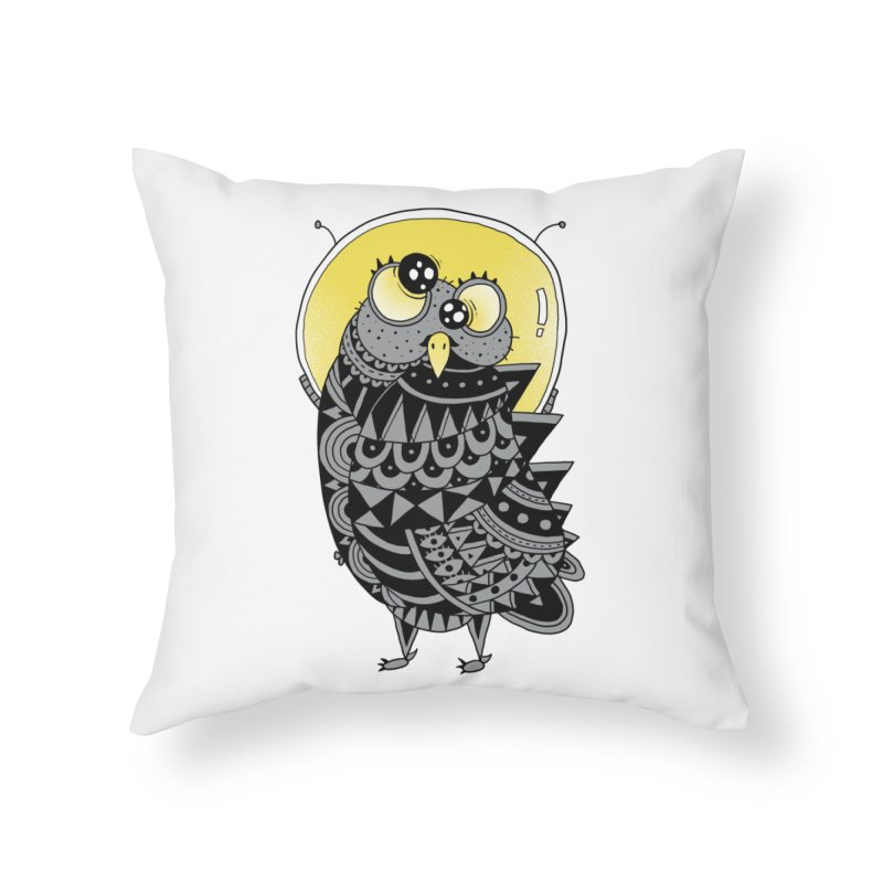 Space Adventure Home Throw Pillow by godzillarge's Artist Shop