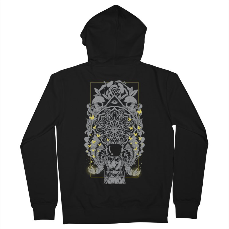 Free to Fly Men's Zip-Up Hoody by godzillarge's Artist Shop