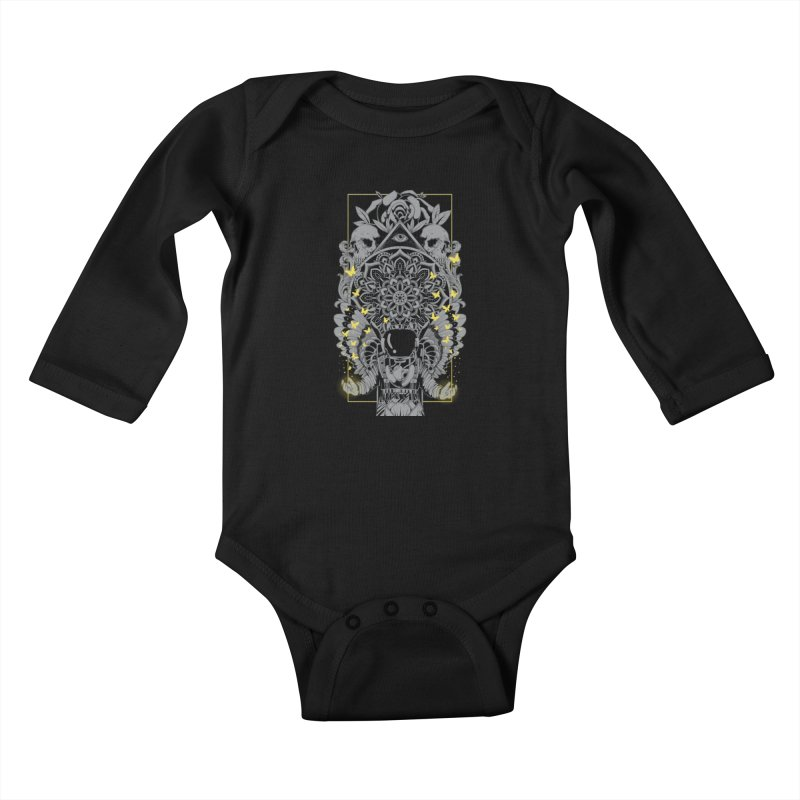 Free to Fly Kids Baby Longsleeve Bodysuit by godzillarge's Artist Shop