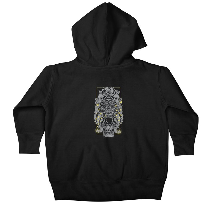 Free to Fly Kids Baby Zip-Up Hoody by godzillarge's Artist Shop