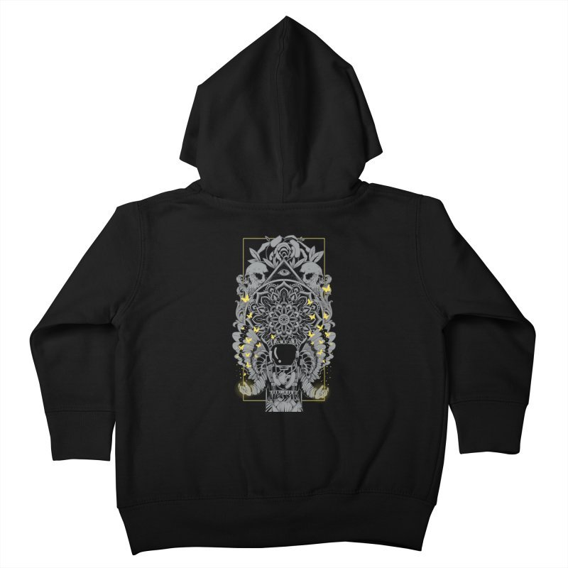 Free to Fly Kids Toddler Zip-Up Hoody by godzillarge's Artist Shop