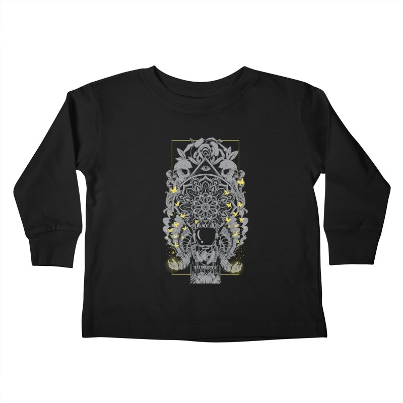 Free to Fly Kids Toddler Longsleeve T-Shirt by godzillarge's Artist Shop