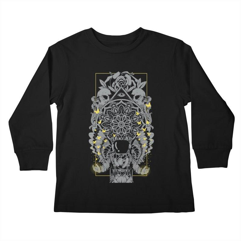 Free to Fly Kids Longsleeve T-Shirt by godzillarge's Artist Shop