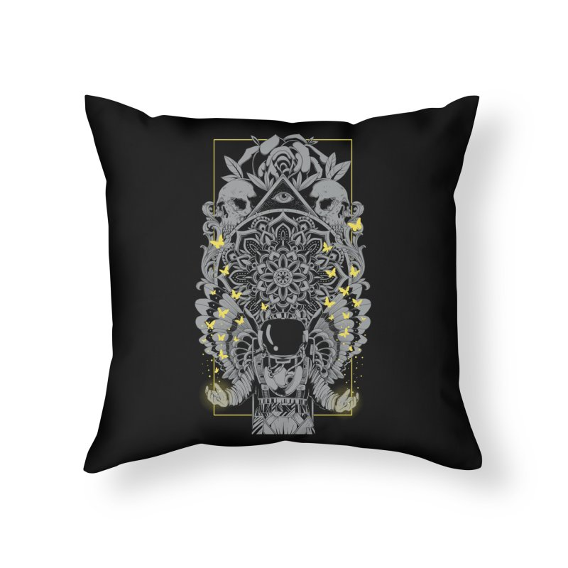 Free to Fly Home Throw Pillow by godzillarge's Artist Shop
