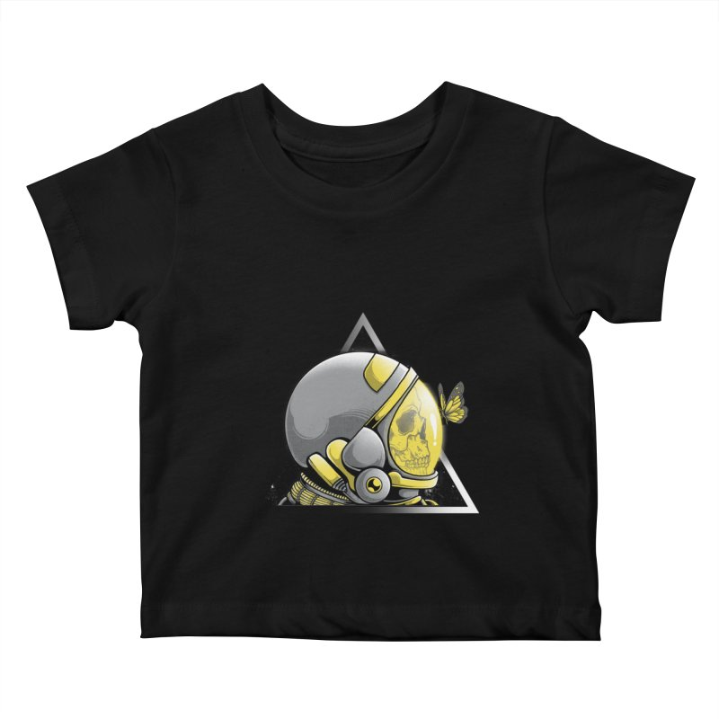 Hello Kids Baby T-Shirt by godzillarge's Artist Shop