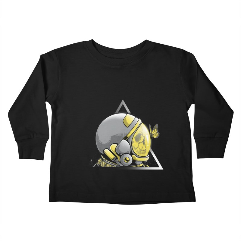 Hello Kids Toddler Longsleeve T-Shirt by godzillarge's Artist Shop