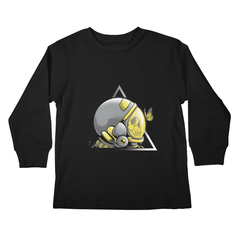 Hello Kids Longsleeve T-Shirt by godzillarge's Artist Shop