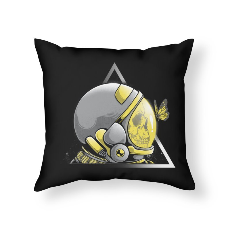 Hello Home Throw Pillow by godzillarge's Artist Shop